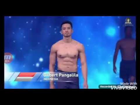 Gilbert Pangalila Mr Supranational Indonesia 2017 Get Top10