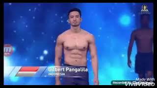 Gilbert Pangalila Mr Supranational Indonesia 2017 get Top10