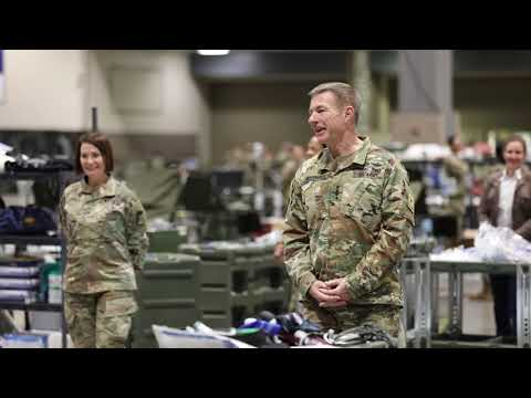 47th CSH, 627th HC Soldiers Host Army Chief Of Staff