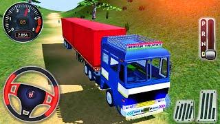 Offroad Indian Truck Simulator - Gerçek Kargo Kamyonu Görev Sürüşü - Android GamePlay