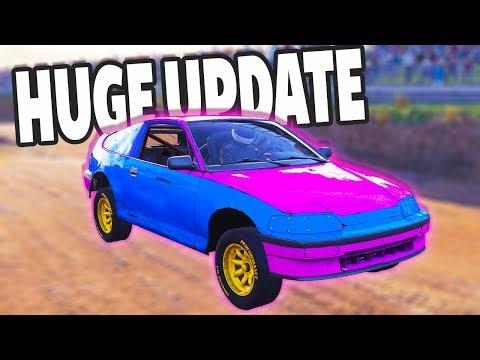 HUGE WRECKFEST UPDATE! 8 NEW CARS! BETTER CRASHES AND MORE! - Next Car Game Wreckfest