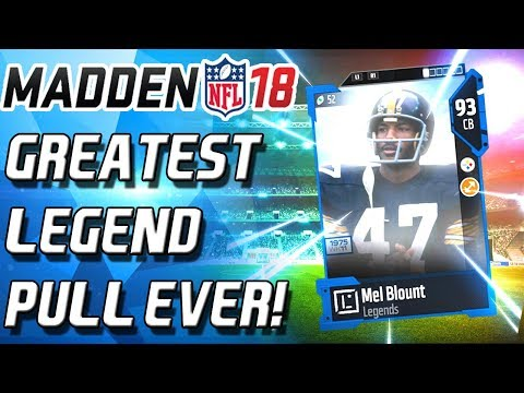I PULLED THE GREATEST LEGEND EVER... THESE PACKS SUCK! - Madden 18 Ultimate Team