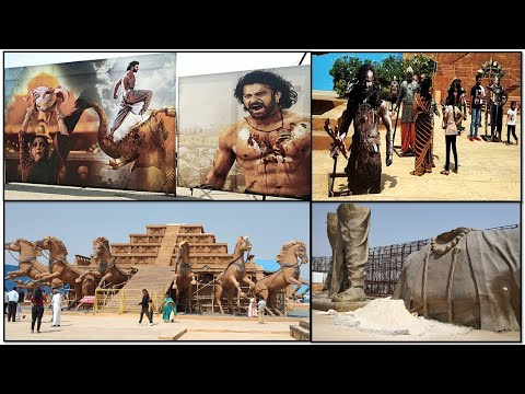 Vlog of Complete Coverage of Bahubali Set Ramoji Film City Hyderabad