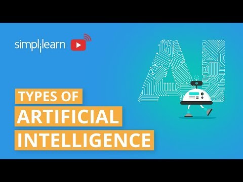 Types Of Artificial Intelligence | Artificial Intelligence Explained |AI Technology 2020|Simplilearn