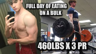 Full Day of Eating | Day in The Life | MASSIVE SUMO PR