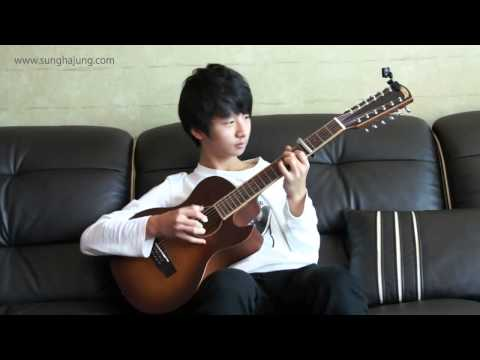 2ne1) Lonely   Sungha Jung (12 strings guitar   4capo Ver) Acoustic Tabs Guitar Pro 6