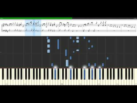 Clean Bandit - Rather be feat. Jess Glynne [Piano Tutorial] Synthesia