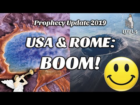 Yellowstone Supervolcano 2019 Prophecy Update News! Apocalypse Countdown (LDPU5#7) @Adam Cherrington