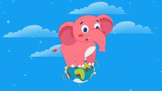 Мультфильмы для детей - Познавашки - Развивающий мультфильм Серия про Слонов, Слоник - Познавашки!