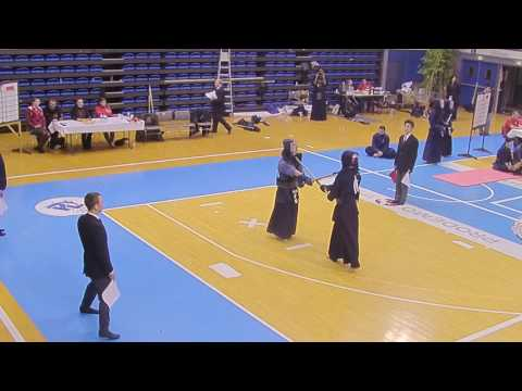 Kendo Open de France 2017 HOMMES  KOKUSHIKAN vs GROUPE FRANCE 2