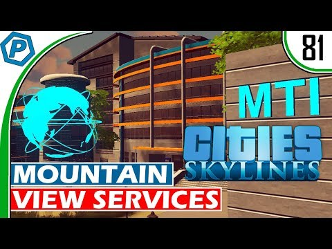 Cities Skylines | Mountain View Services | Not so Green Cities | Deepford | 81 | Gameplay