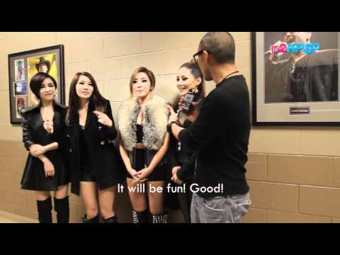 Backstage Interview with Brown Eyed Girls
