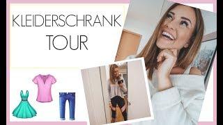 MAREN'S NEUER KLEIDERSCHRANK 😍 LEERE SCHRANK TOUR | 21.02.2019 | DailyMandT ♡