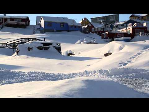 Groenland Ilulissat Centre ville / Greenland Ilulissat City center