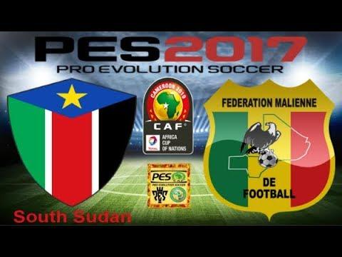 PS4 PES 2017 Gameplay South Sudan vs Mali HD