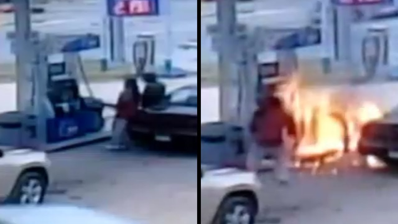 This Is Why You Don T Smoke A Cigarette At A Gas Station