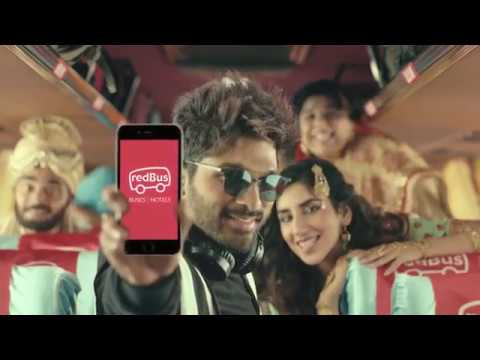 redBus - Choose your own seat (HI) - featuring Allu Arjun