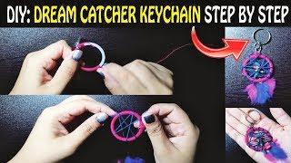 DIY: Dream catcher key-chain