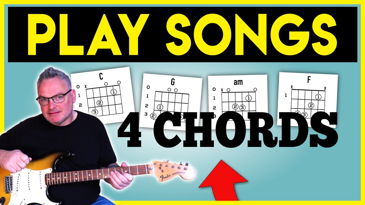 C G Am F Guitar Chords Axis of Awesome 15 chords