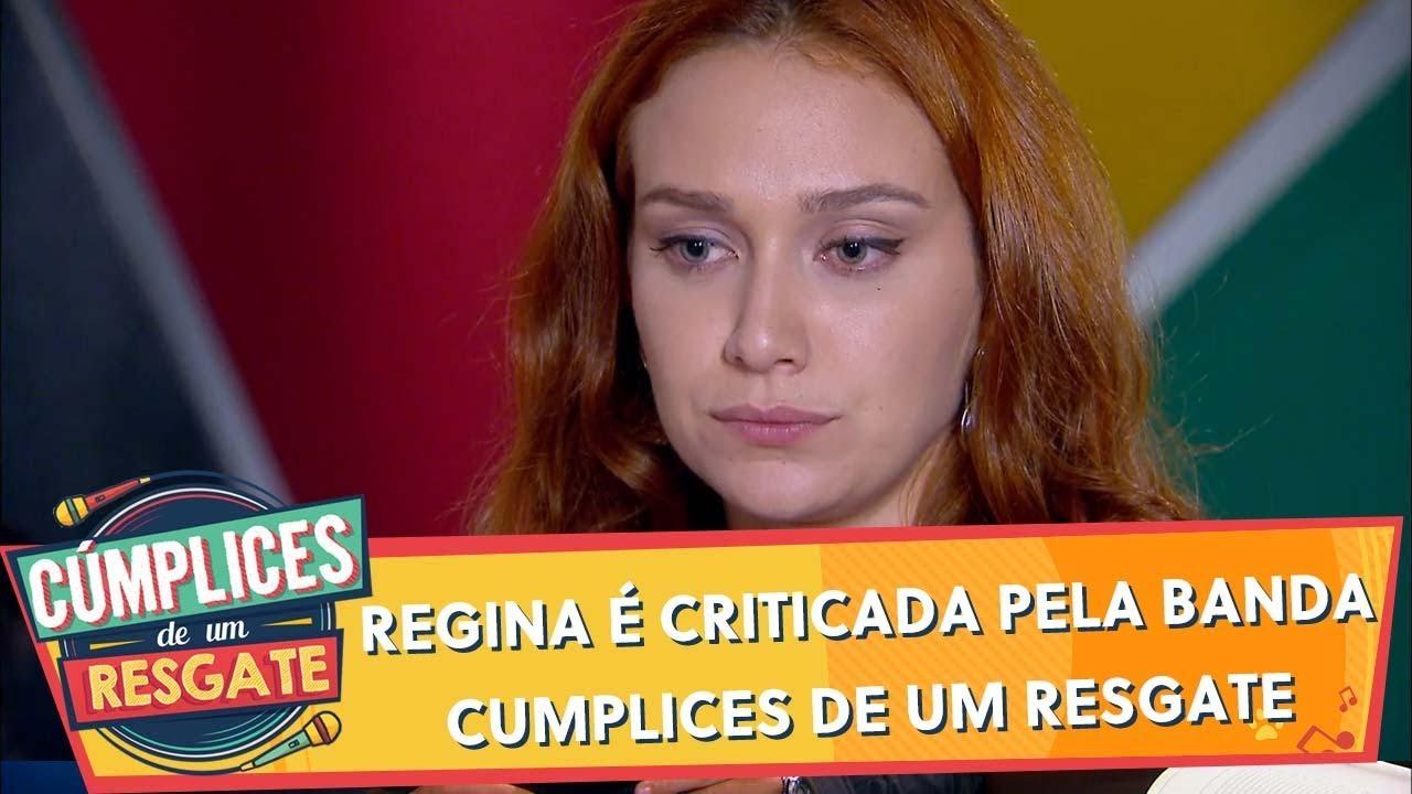 Regina é criticada pela banda | Cúmplices de Um Resgate (12/12/19)