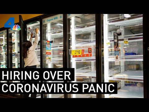 Costco, Ralphs Hiring Workers To Deal With Coronavirus Demand | NBCLA