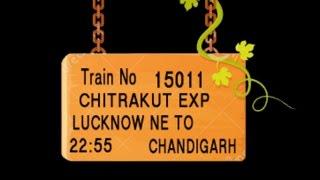 Train No 15011 Train Name LJNCDG EXPRESS LUCKNOWNE HARDOI SHAHJEHANPUR CHANDAUSI MORADABAD AMROHA