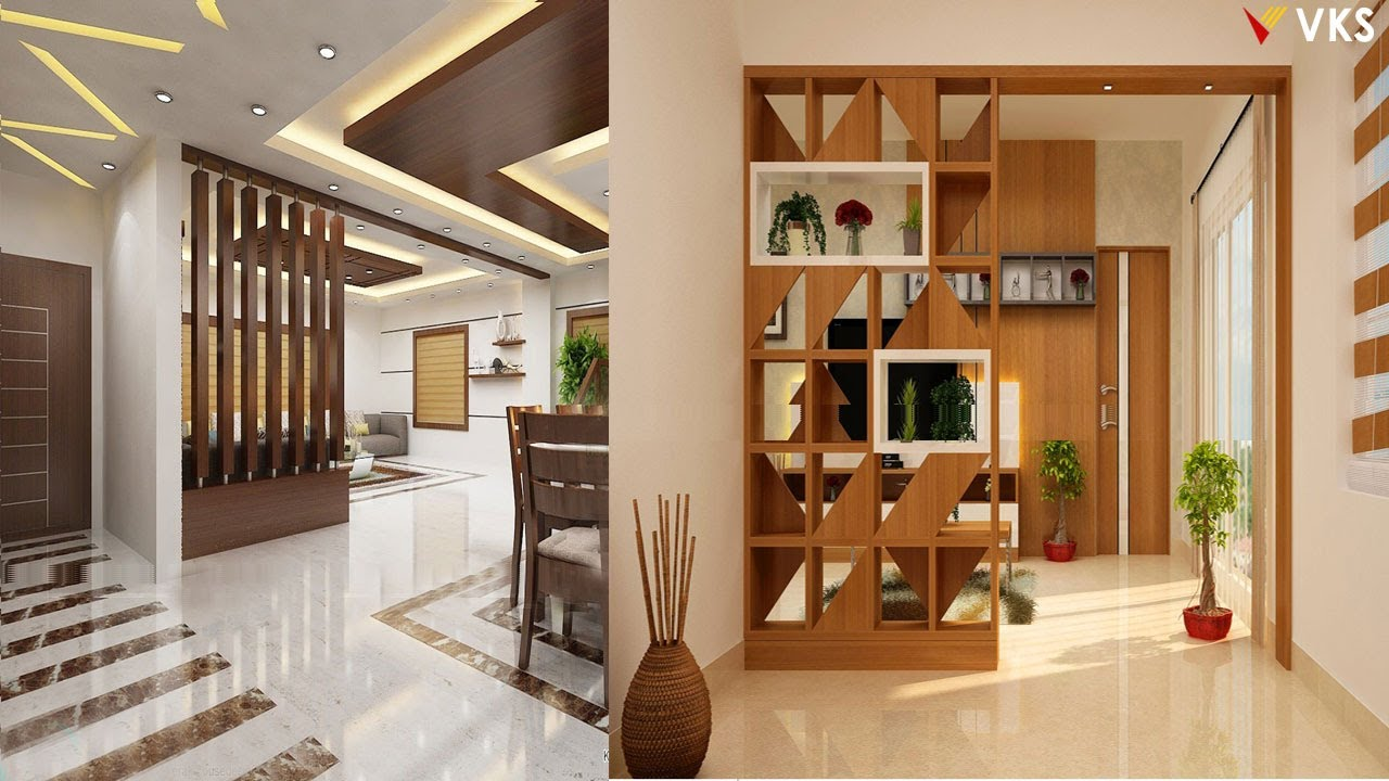 Room Divider Design Ideas Wooden Partition Wall Design Living Room Partition Wall Interior Ideas Youtube