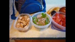 (recipe) Teriyaki Chicken Salad On The Go!!