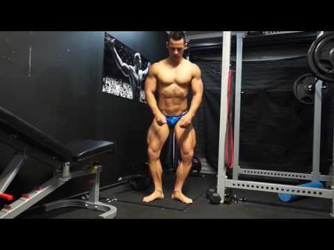 1.5 WEEKS OUT - POSING PRACTICE - NATURAL BODYBUILDING