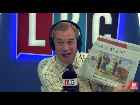 The Nigel Farage Show On Sunday: Brexit Ultimatum  1/2 LBC - 19th November 2017