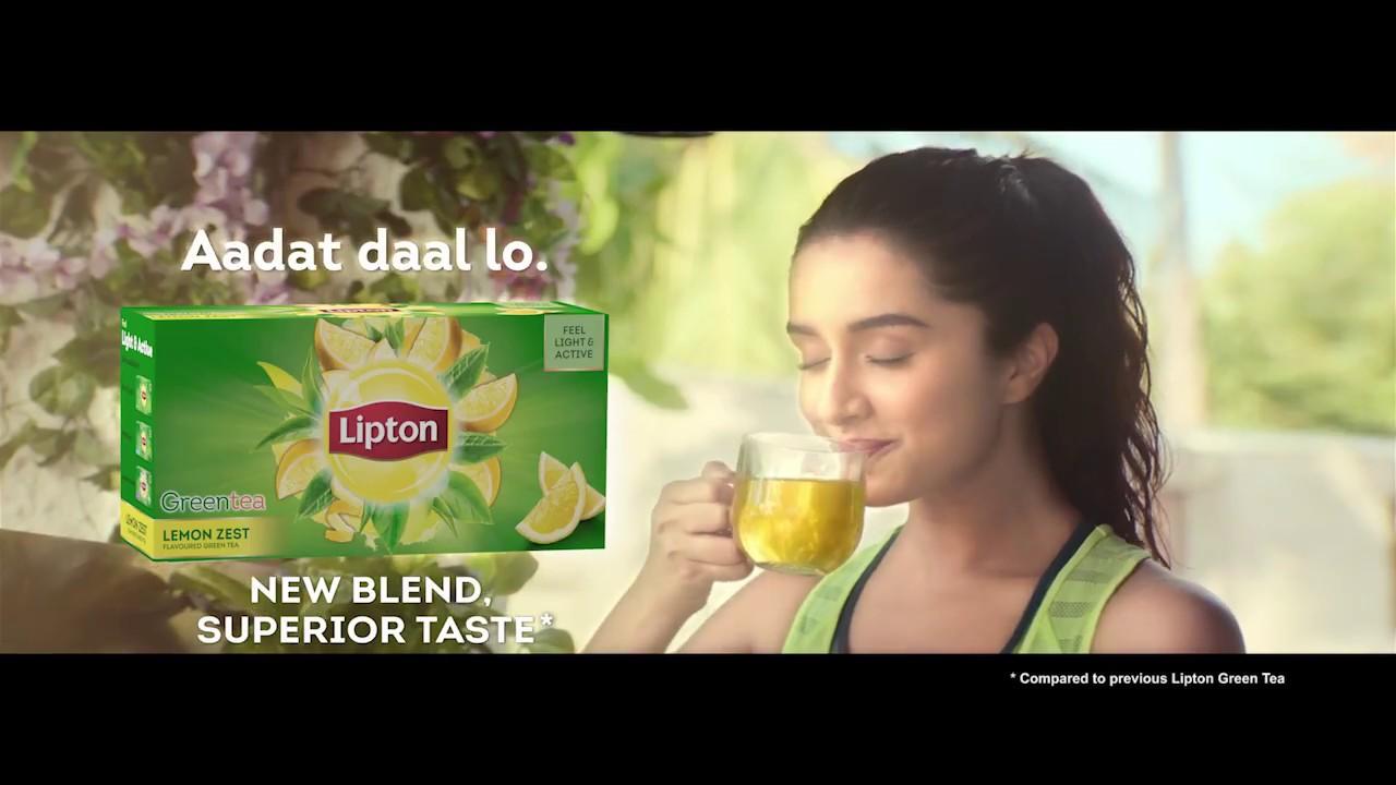 New Lipton Green Tea Lemon Zest Flavour Youtube