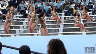 Southern University Dancing Doll Highlights vs AAMU (2015)