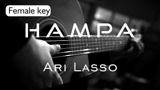 Hampa - Ari Lasso Female Key ( Acoustic Karaoke ) MP3