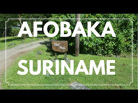 AFOBAKA - SURINAME 🇸🇷 | ON THE WAY