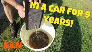 How to Properly clean a REUSABLE air filter