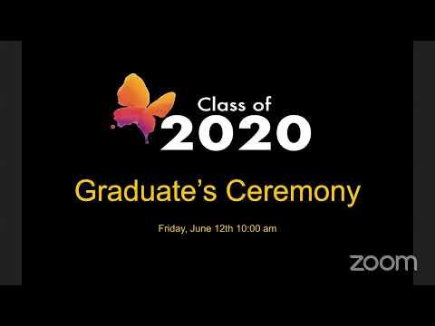 The Ancona School Graduate's Ceremony 2020
