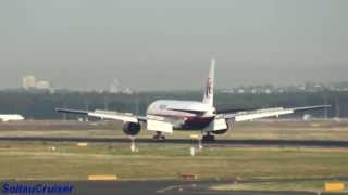 Video of Malaysia Airlines Missing Plane (Flight MH370 777 9M-MRO)