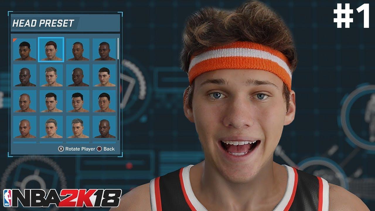 d9ae1e90e5d NBA 2K18 My Career Gameplay Walkthrough Playthrough - Creation of ...