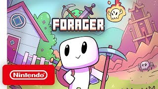 Forager - Launch Trailer - Nintendo Switch