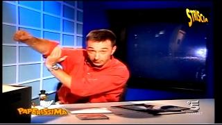 LINUS dice che MICHAEL JACKSON FA CAGARE - Fuori Onda Paperissima 1992