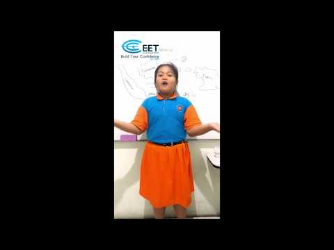 EET Primary 3 - Melodia Nada Safira - My country, Indonesia