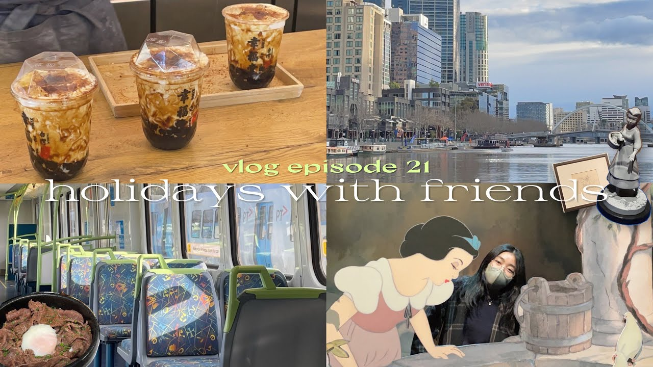 s2 vlog 🚃going to the city; getting my ears pierced, disney exhibition and karaoke!