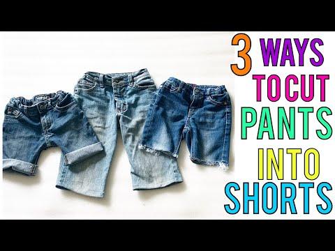 3-ways-to-cut-pants-into-shorts-|-diy-shorts