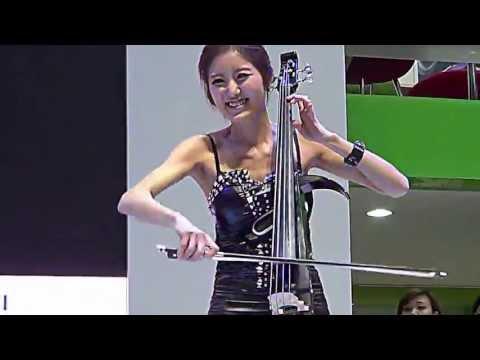2013서울모터쇼 전자현악 샤인Shine - 바네사메이 스톰Storm
