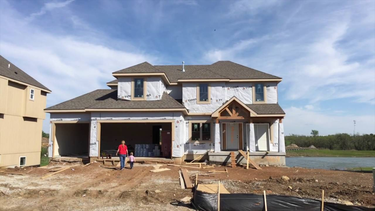 from dirt to dream one family s new home construction process youtube