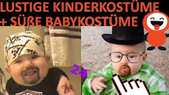 LUSTIGE KINDERKOSTÜME 👦 + SÜßE BABYKOSTÜME 👶 - Fasching - Halloween - lustige Videos + Bilder