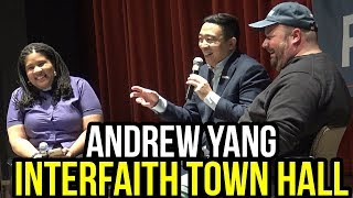 Andrew Yang Interfaith Town Hall at Wartburg College | What are Andrew's Religious Views?