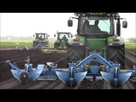 Potatoe planting in the fens 2015 part2