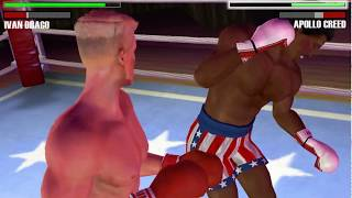 Rocky Balboa - PSP (PPSSPP) Ivan Drago vs Apollo Creed - Historical Fight