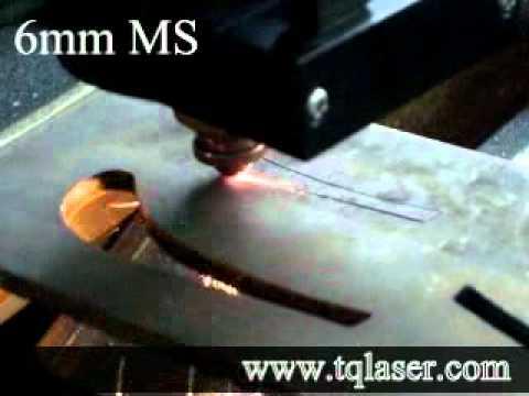 6mm MS Cutting Wuhan Tianqi laser.mp4